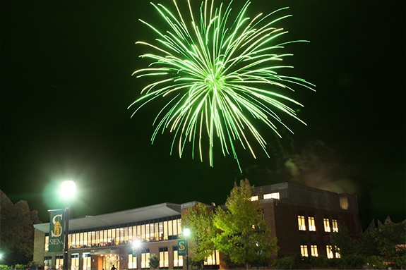 Happy 4th of July from Siena College