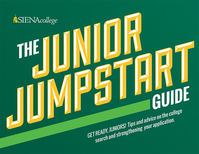 Siena College's Junior Jumpstart Guide