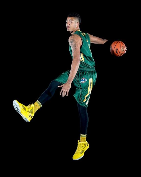 Siena basketball player: Javion Ogunyemi